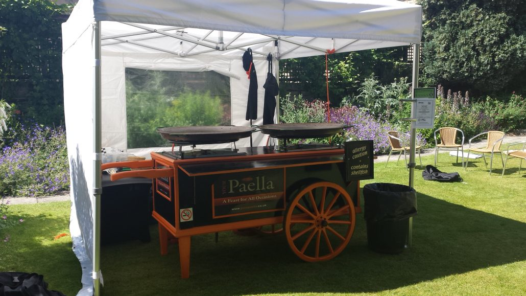 Your Paella Paella Cart