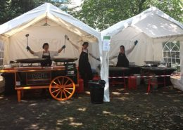 Large Corporate Paella catering