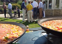 A typical Paella Party