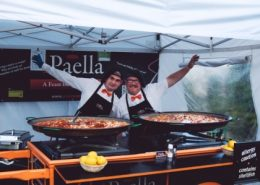 Gary and Del Paella chefs