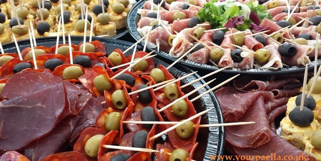 Spanish Style Canapes