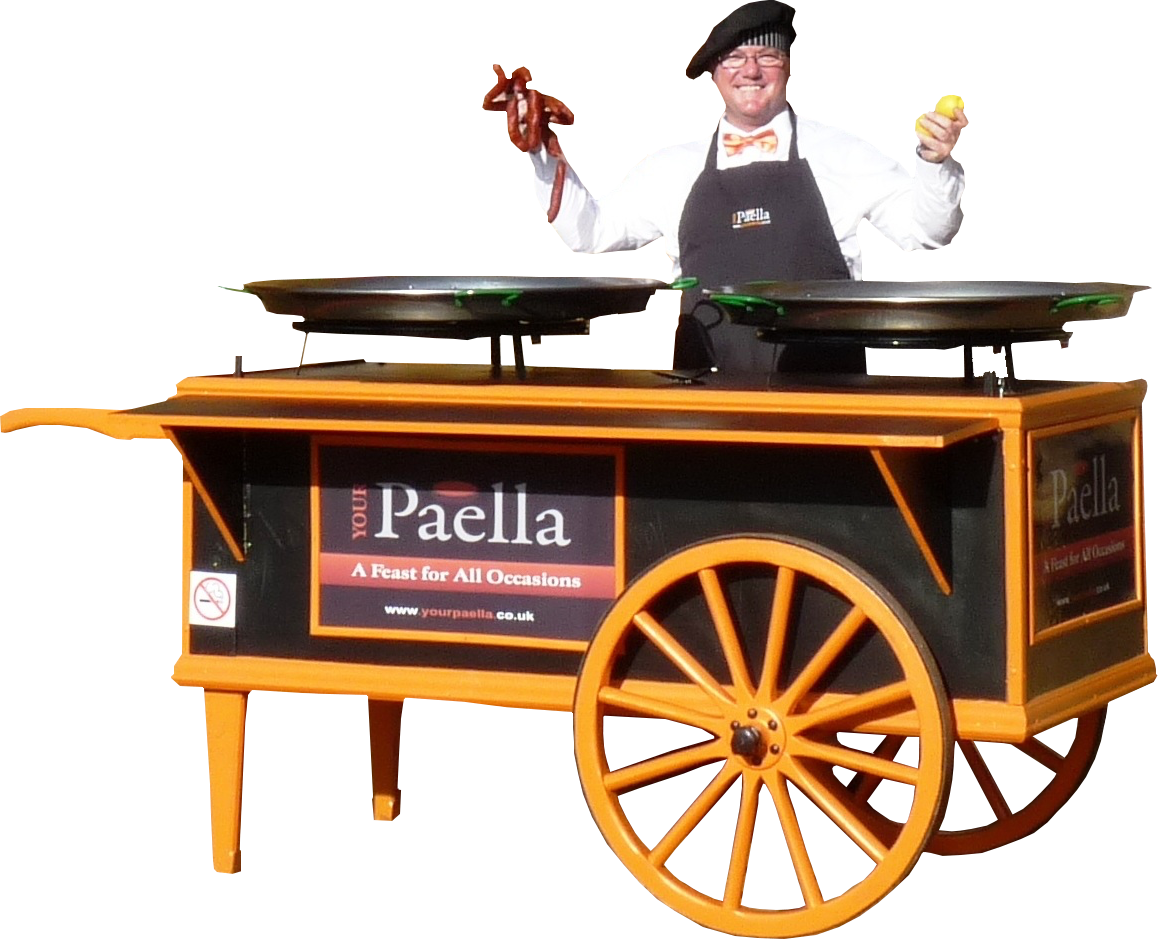 Your Paella, Paella Catering Cart