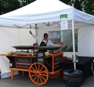 Your Paella corporate catering.