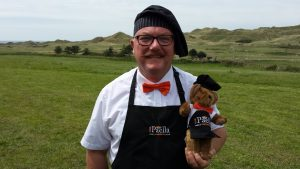 Gary and Paella Teddy!
