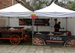 Paella University catering