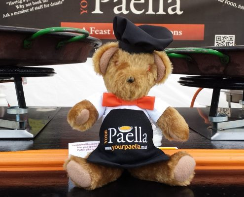 Paella Teddy Bear