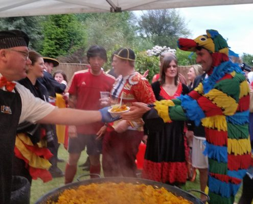 Paella Catering Manchester