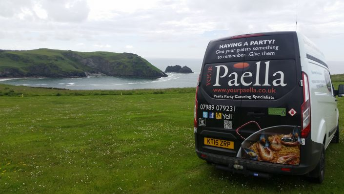 Paella Catering Cornwall