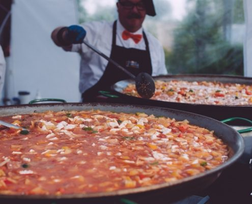 Paella Catering Gloucestershire