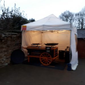"The Your Paella ""Paella Cart"""