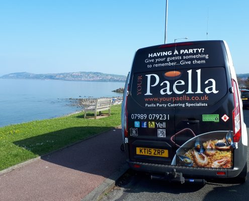 Paella Catering North Wales
