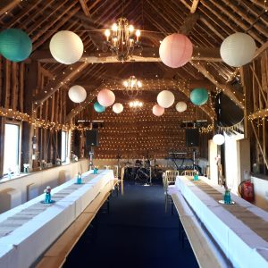 Paella Wedding Catering at Newton Park Barn Bedfordshire