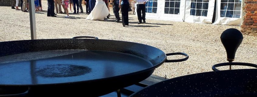 Paella Wedding Catering Newton Park Barn Bedfordshire