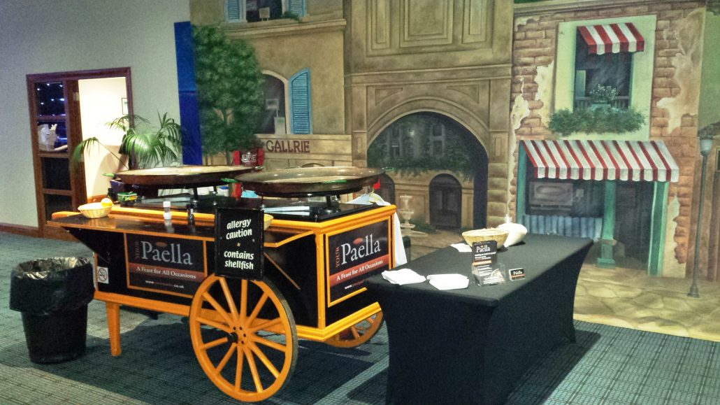 Your Paella Indoor Corporate Catering