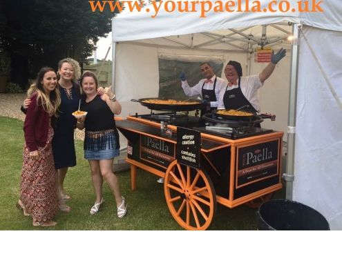 Paella Catering for Weddings